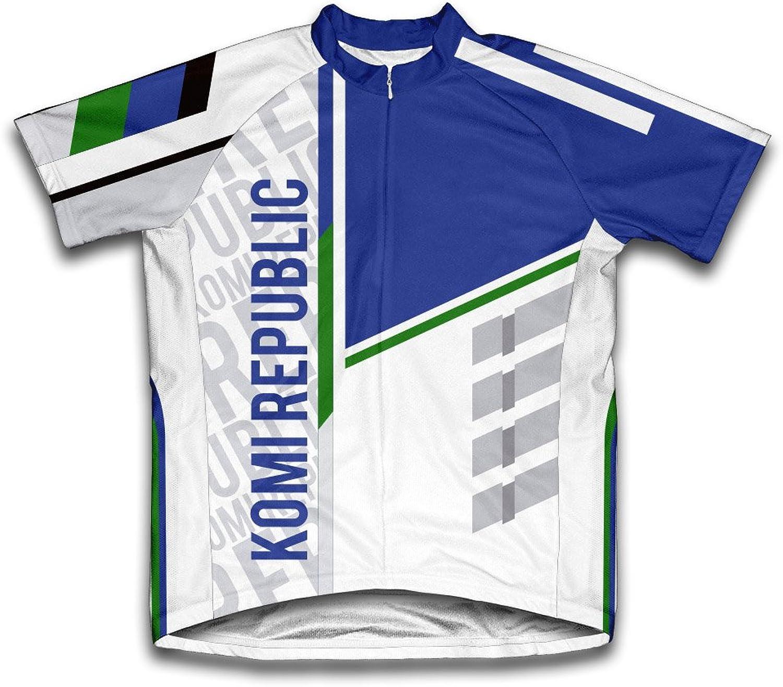 Komi Republic ScudoPro Short Sleeve Cycling Jersey for Men