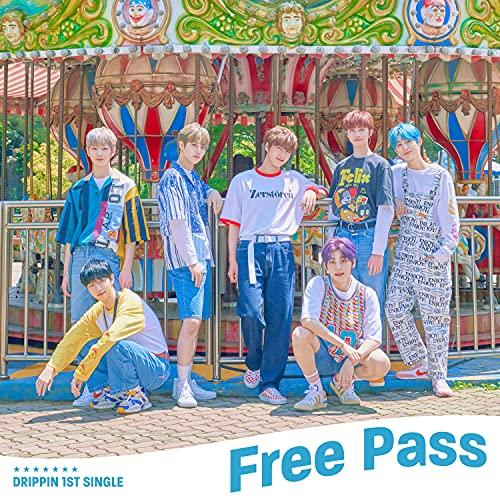 DRIPPIN 1st Single Album [Free Pass]