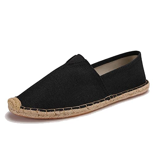 Womens Mens Casual Espadrilles Loafers Flats Shoes Breathable Slip-on Canvas Sneaker