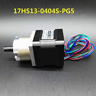 HUDITOOLS Quality | Stepper Motor | Gear Ratio 5:1 Planetary Gearbox Stepper Motor Nema 17 Planetary Gearbox 3D Printer Motor 17HS13|0404S|PG5 1 PCs