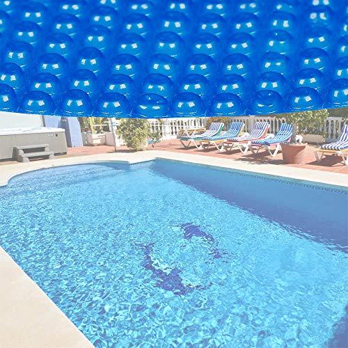 Wiltec Pool Solarfolie3.6m Rund blau Poolabdeckung Solarplane Poolheizung