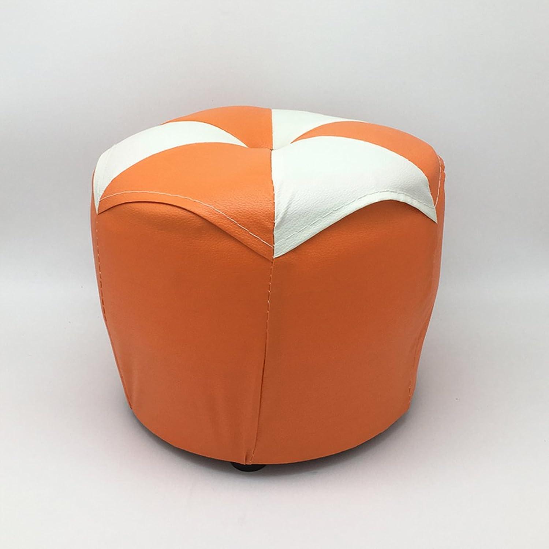Personality Sofa Change shoes Low Round Stool xiao pi dun feet Tea Table Creative Fashion Small Stool-E