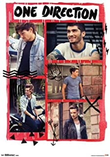 Trends International 1D One Direction Doodle 22-Inch by 34-Inch Art Print Poster