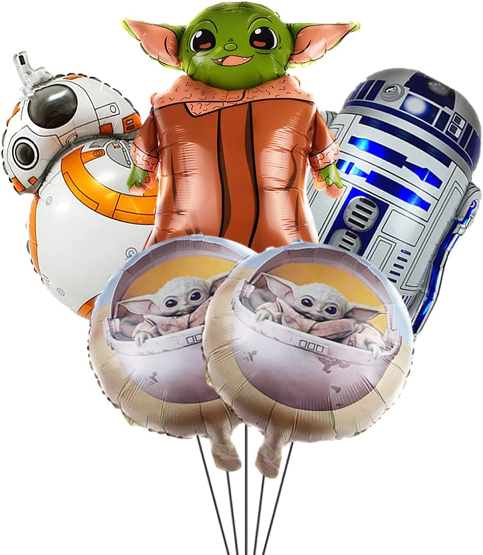 Popular shop is the lowest price challenge 5 Minneapolis Mall pcs Balloon For Star Party Birthday Yoda,Video Games Wars