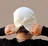 Volumizer including No Slip Headband-NEW-All In One Hat-Great under Tichel, Head Scarves, Wigs, Chemo, Head Coverings Volumizing Hijab Headpiece Bun