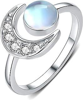 Suchergebnis auf für: Mondstein Ringe Damen