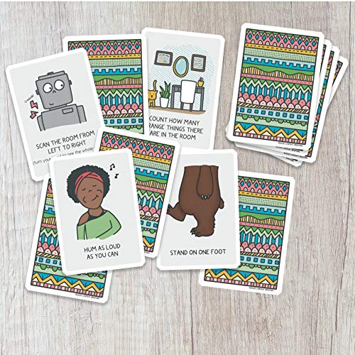 Cards for Trauma-Sensitive Mindful Grounding - A Deck for Parents, Teachers, and Therapists