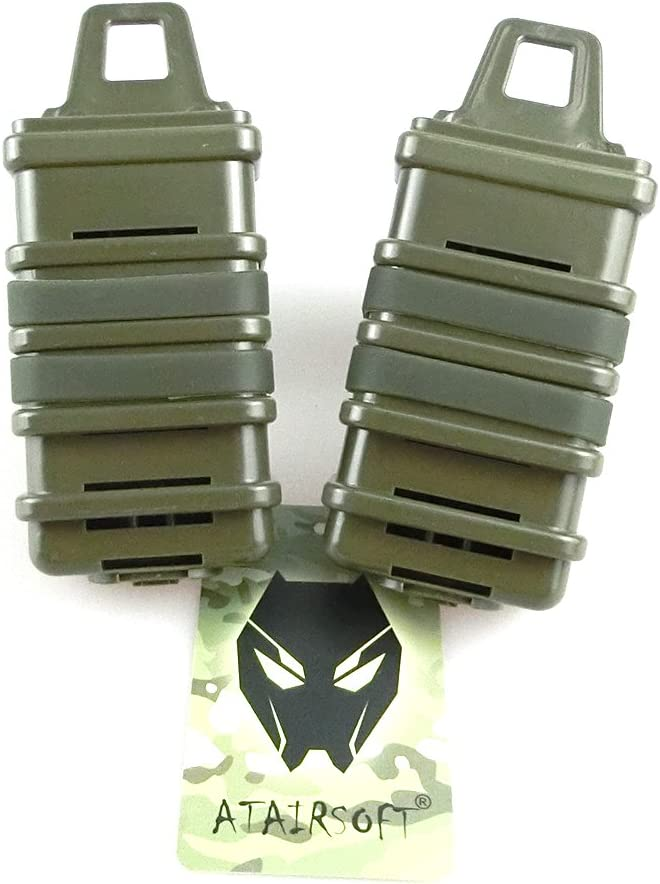 ATAIRSOFT 2X Genuine Double Fast Attach MP7 Direct sale of manufacturer Molle Magazine Hol Pouch MAG