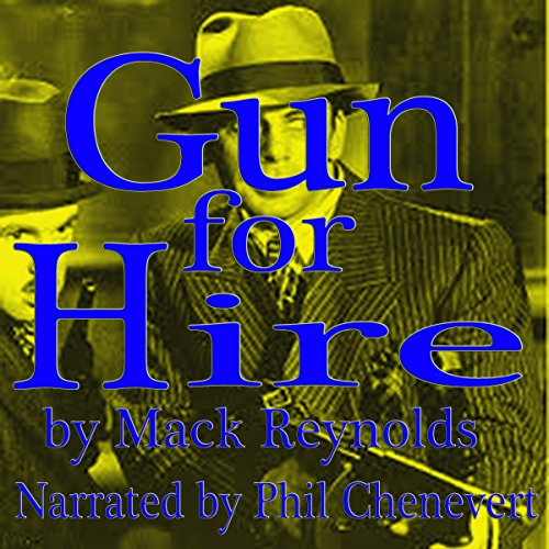 Gun for Hire audiobook cover art