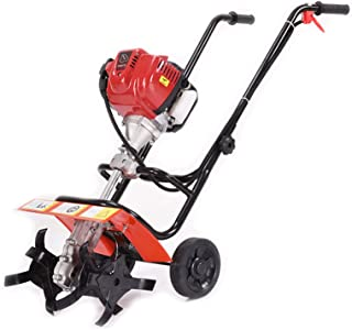 QILIN 4-Cycle Gas Powered Cultivator, Gasoline Tiller, Household Small Tiller/Cultivator, Suitable for Small Garden Soil I...
