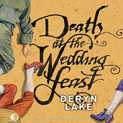 Death at the Wedding Feast audiobook cover art