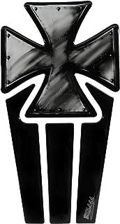 Bike Label 502262b Tankpad Lackschutz Aufkleber für Motorrad Tank Eisernes Kreuz