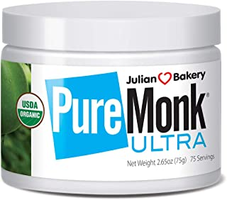 Sponsored Ad - Julian Bakery Pure Monk Ultra | Organic | v50% Monk Fruit Extract | Sweetener | 2.65oz | 75 Servings