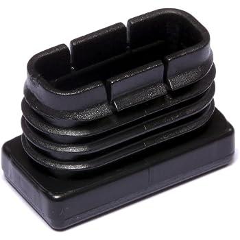 Brinox B75855N Contera interior rectangular, Negro, 15 x 30 mm, Set de 50 Piezas: Amazon.es: Bricolaje y herramientas
