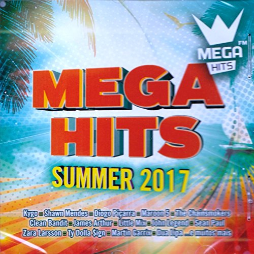 Mega Hits Summer 2017 [CD] 2017
