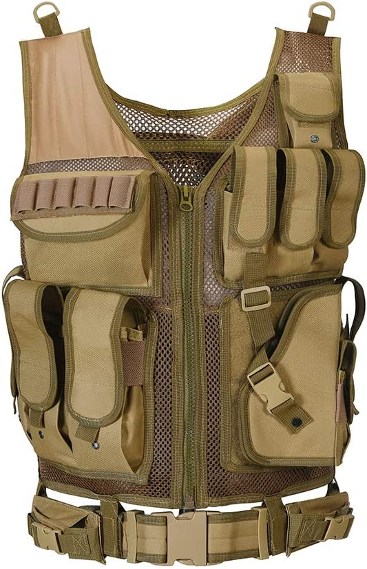 NANA Jewels Outdoor Tactical cheap Ultra-Light Breathable Combat Deluxe Vest
