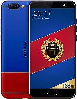 Ulefone T1 Premium Edition – 5,5 tum 4G FDD-LTE smarttelefon, 6 GB RAM 128 GB ROM Android 7.0 Octa Core 2,6 GHz, 3 kamera ...