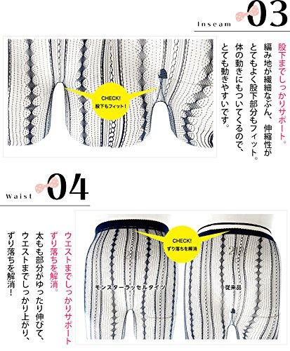 (Goldjapan)ゴールドジャパン大きいサイズレディースダイヤ柄ラッセルタイツ靴下ソックスdrop-14leg-005F(3L-6L)ブラック
