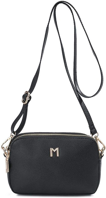 Melie Bianco Emilia Vegan Multi Way Sling Crossbody Belt Bag, Black