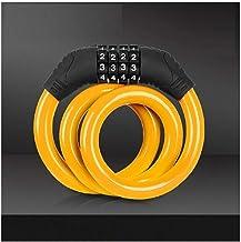 Fietsslot/codeslot/draagbaar slot/antidiefstalslot-Oranje