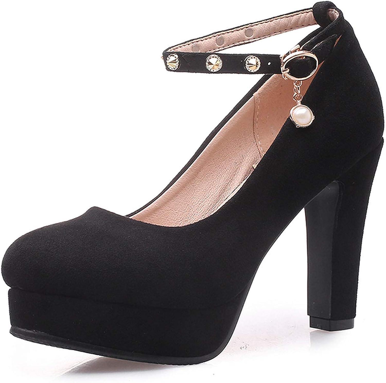 Pink-star New Women's Pumps Platform Elegant Office Lady Women's shoes Woman