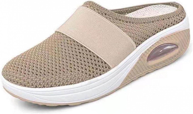Clarkshoes Air Cushion Slip-On Walking Shoes Orthopedic Diabetic