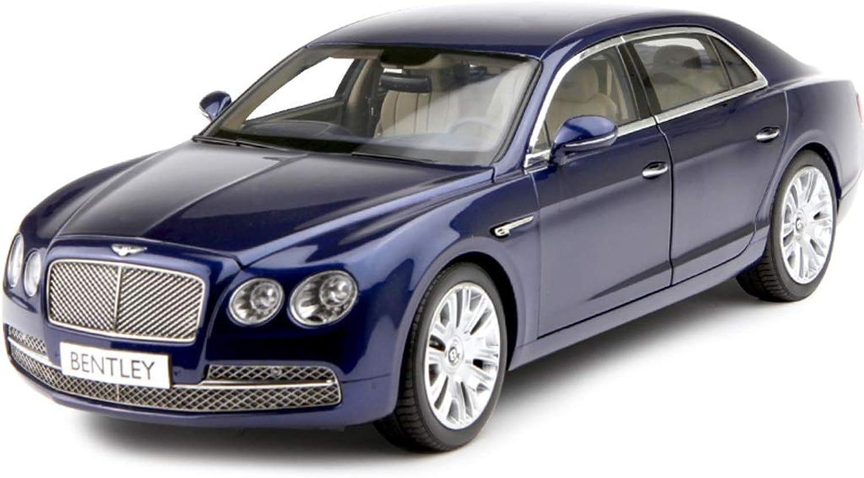 GAOQUN-TOY 1 18 Bentley CFS W12 Bentley Speeding Luxury Car Alloy Simulation Car Model (color   bluee, Size   29.5cm11cm8.3cm)