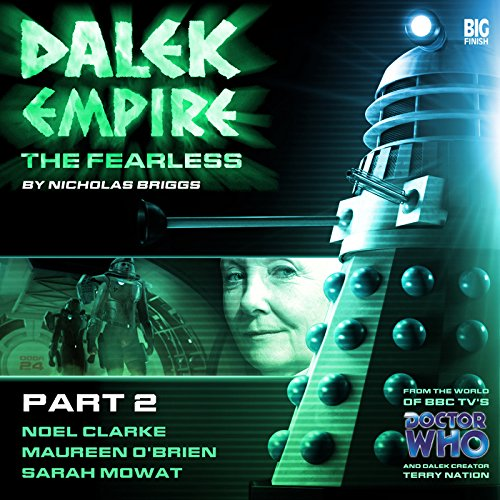 Dalek Empire 4.2 The Fearless Part 2 audiobook cover art