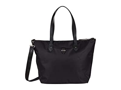 Lipault Paris Travel Tote Bag (Jet Black/Light Gold) Bags