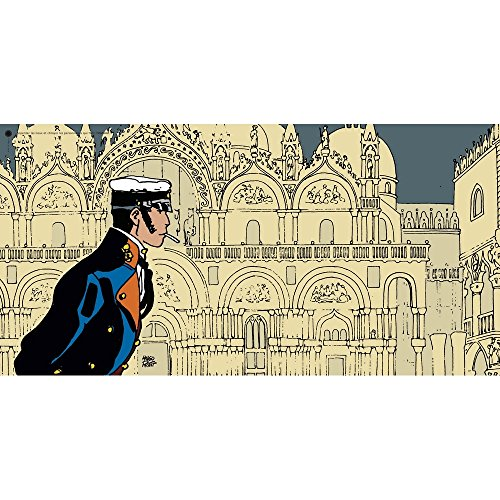 CC Editions Poster Offset Corto Maltese, History (100x50cm)