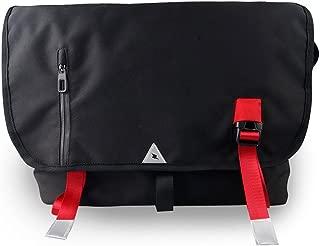 GoFar Bike Messenger Bag Large Nylon School Shoulder Courier Bag Fits 15.6 Inch Laptop