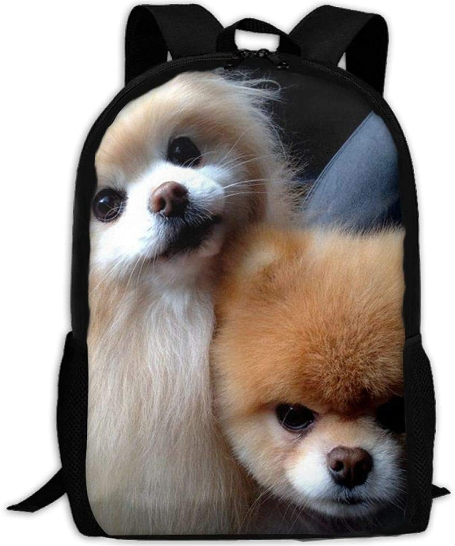 Casual Cute Dog Laptop Backpack School Bag Shoulder Bag Travel Daypack Handbag B07Q3CXJKD  Wartungsfähigkeit