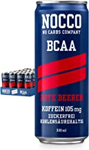 Nocco BCAA Drink 24 x 330 ml Containers Red Berries incl 24 x 0 25 EUR deposit Estimated Price : £ 74,27