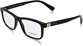 Men's VE3253 Eyeglasses 55mm, Black, 55/17/145