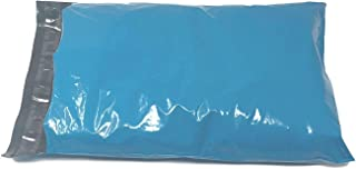 Shop4Mailers 25.4 x 33.02 cm 蓝色塑料袋邮寄信封,2 毫米 100 Pack 蓝色