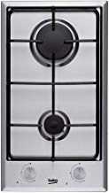 Beko HDCG 32220 FX Integrado Encimera de gas Acero inoxidable hobs - Placa (Integrado, Encimera de gas, Acero inoxidable, Acero inoxidable, 1000 W, 2900 W)