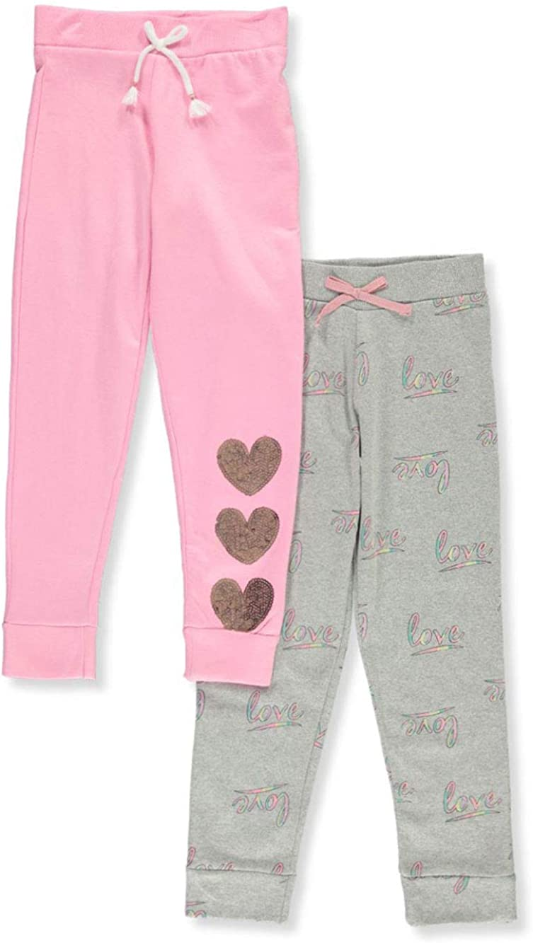One Step Up Girls 2-Pack Joggers