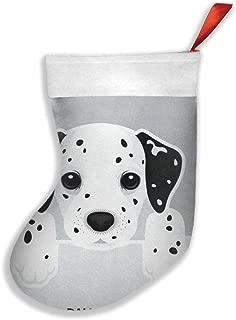 Christmas Socks Cute Dalmatian Dog Pattern Novelty Socks Crazy Socks Perfect For Christmas Or Daily Wear
