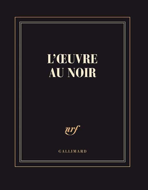 Carnet carré «L'Œuvre au Noir» (papeterie)