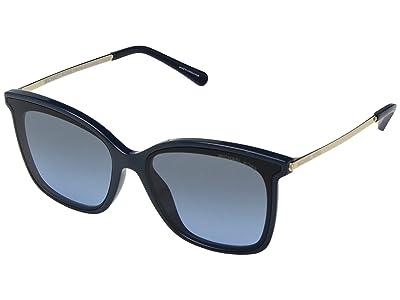 Michael Kors 0MK2079U 61mm (Navy Solid/Grey Blue Gradient) Fashion Sunglasses