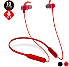 Bluetooth Headphones Waterproof IPX6, 10Hrs Premium HD Sound Neckband Wireless Earbuds, JT SOUND Magnetic In-ear Earphones Sport Bluetooth Earbuds w/Mic for Gym Running Workout,Noise Canceling Headset
