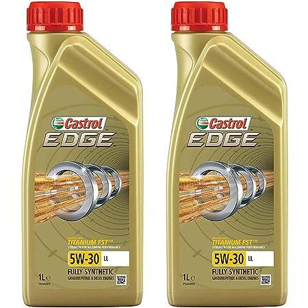 3x 1 L Liter Castrol Edge Fluid Titanium 5w 30 Ll Motoröl Inkl Ölwechselanhänger Auto