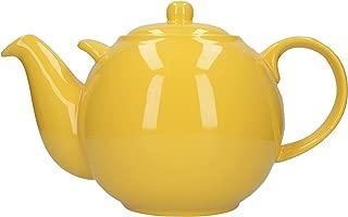 London Pottery Globe Teapot, New Yellow, 10 Cup, Closed Box