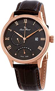 Lucien Piccard Men's LP-10339-RG-014-BRW Volos Analog Display Japanese Quartz Brown Watch