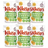 Cello Whisps Pure Parmesan Cheese Crisps, 12 Pack of 2.12 Ounce Bags by Cello