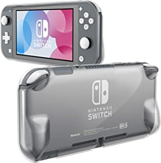 Fintie Grip Case for Nintendo Switch Lite 2019 - Soft TPU [Frosted Translucent] Shock-Absorption and Anti-Scratch Protecti...