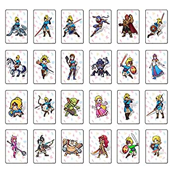 The Legend of Zelda  Breath of The Wild Amiibo Card Full Set of Linkage Cards Suitable for Switch Wilderness Amiibo Zelda Card  Big Card