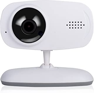 EMEBAY - 720P WiFi Security Home Camera / Baby Monitor / Surveillance Smart Camera with Night Vision Function, Two-way Voice, Motion Detection, Mobile Phone Control High-definition Baby Monitor Support TF Card (Up to 64G) for Android iPhone iPad