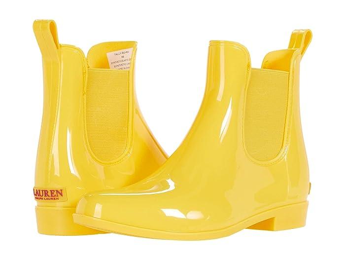 LAUREN Ralph Lauren  Tally (Yellow) Womens Pull-on Boots