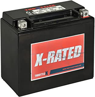 ThrottleX Batteries - ADX20HL-BS - AGM Replacement Power Sport Battery